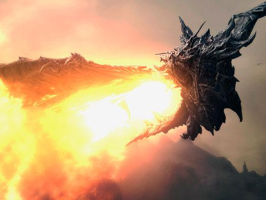 How to become a dragon in skyrim?