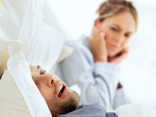 Why do people snore?
