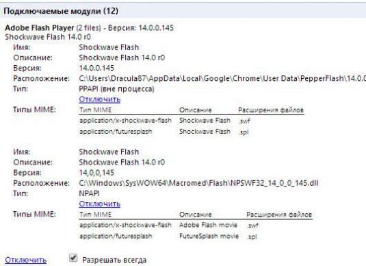 How to enable flash player in Yandex Browser?