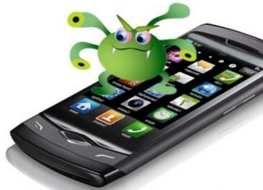 How to remove a virus from the phone?