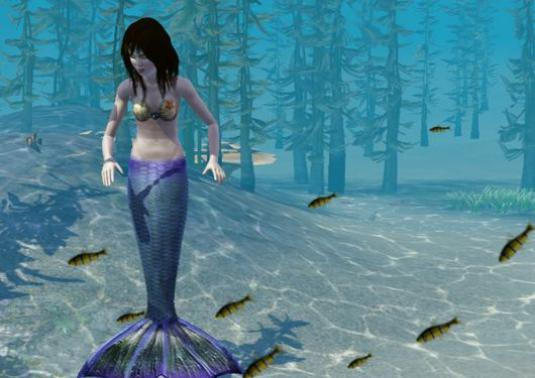 "How to become a mermaid in ""The Sims 3: Paradise Islands"" (The Sims 3: Island Paradise)?"