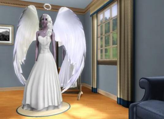 "How to become an angel in ""Sims 3"" (The Sims 3)?"