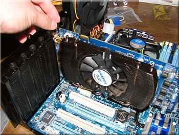 Installing a video card