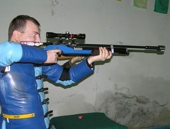 Aim with weapon