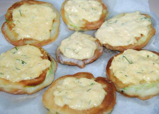 How to cook fried zucchini?