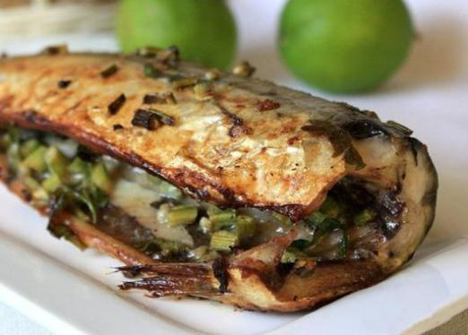 How to cook mackerel in the oven?