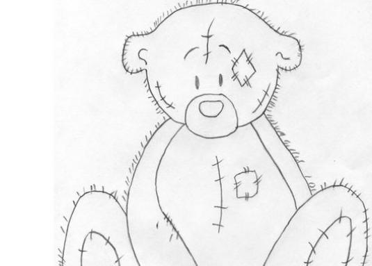 How to draw a bear in stages?