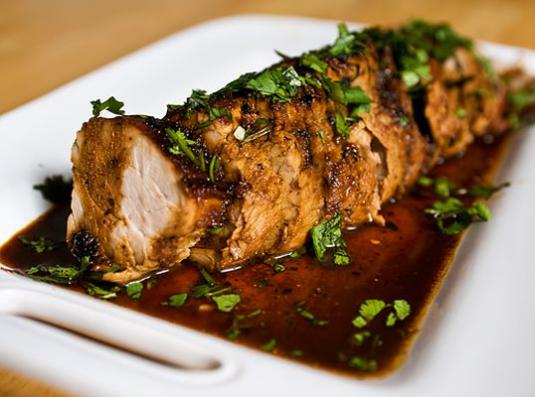 How to cook loin?