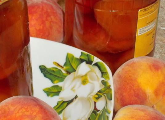 How to cook peaches?