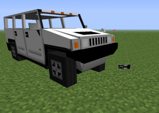 How to make a car in Minecraft?