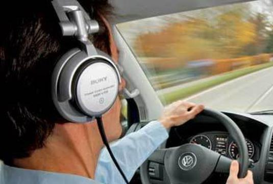How to listen to music in the car