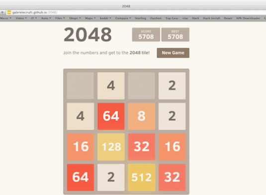 How to play 2048?