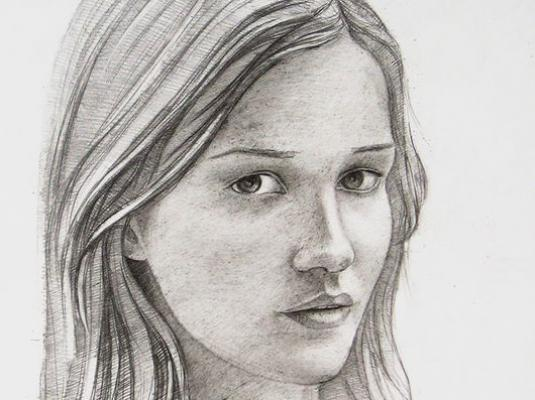 How to draw a portrait in pencil?