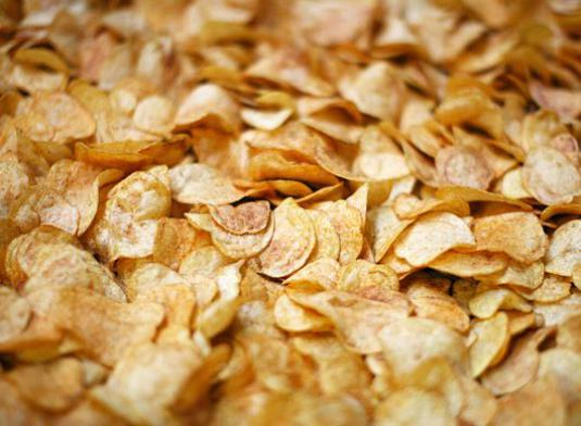 What are chips made of?
