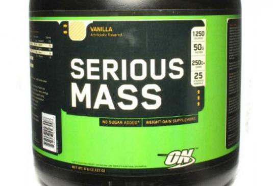 How to take Serious Mass?
