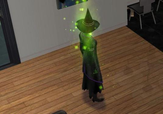 Sims: how to become a witch?