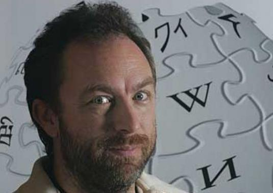 Who came up with Wikipedia?