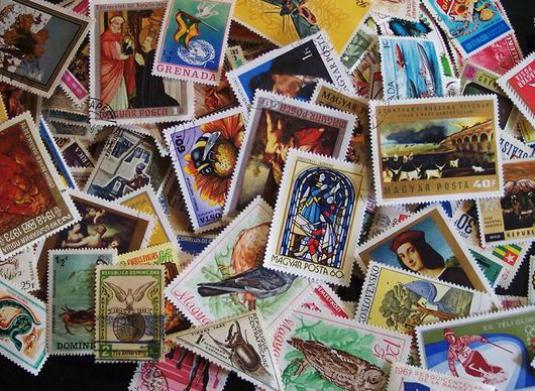 How to collect stamps?