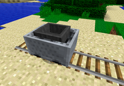 How to make a trolley in Minecraft?