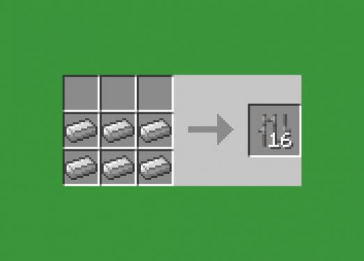 How to make a cage in Minecraft?