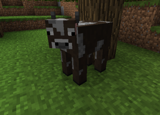 How to make a cow in Minecraft?