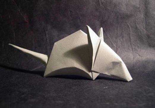 How to make a paper mouse?