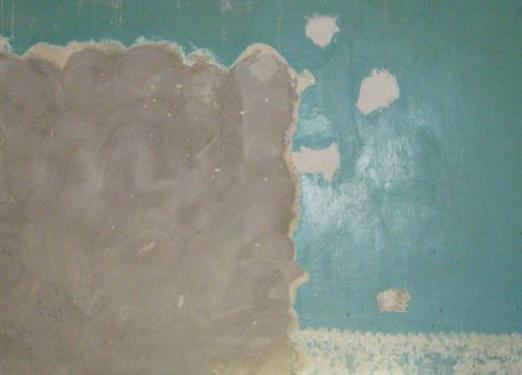 How to remove the paint from the walls?
