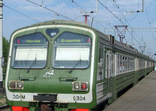 How to get by train to Moscow?