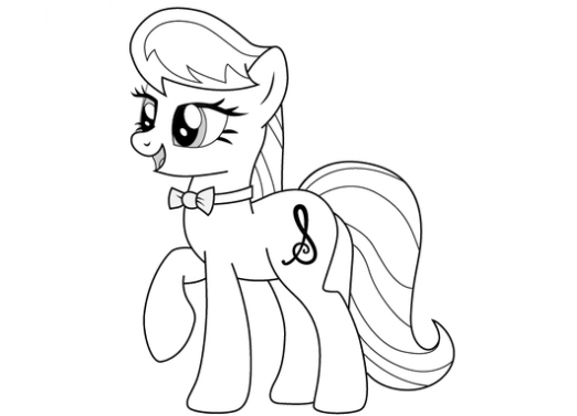 How to draw a pony?