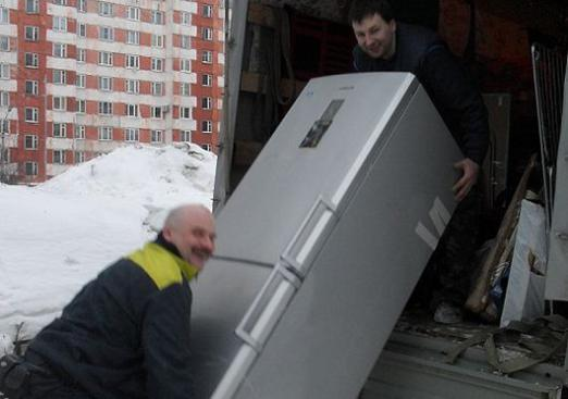 How to transport the refrigerator?