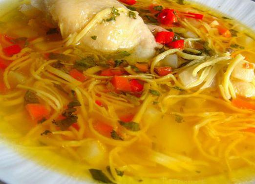 How to cook noodle soup?