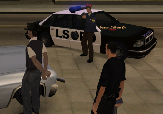 How to become a cop in the GTA?