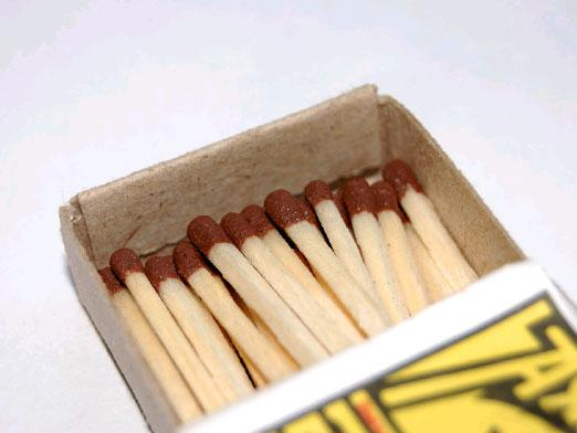 How to make a bomb out of matches?