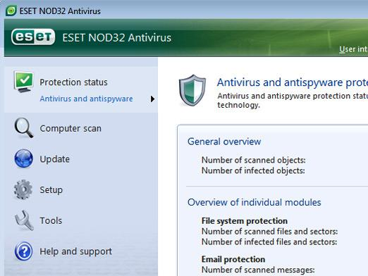 How to disable NOD32?