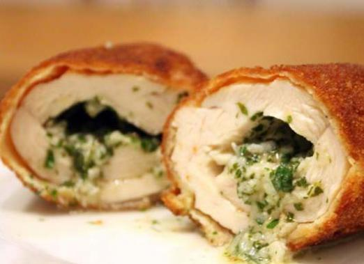 How to cook chicken Kiev?
