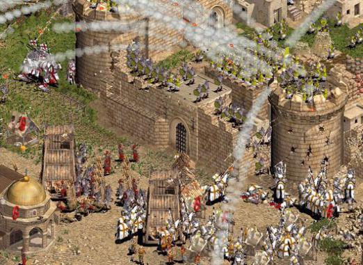 How to play Stronghold Crusader?