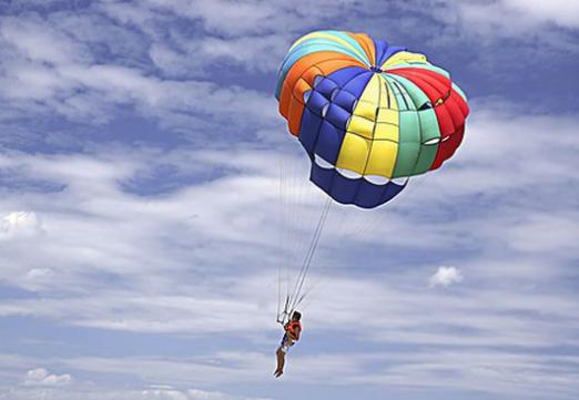 What is a parachute?