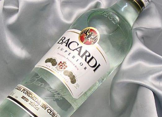 """How to drink white """"Bacardi""""?"""