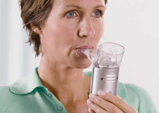 What is inhalation?