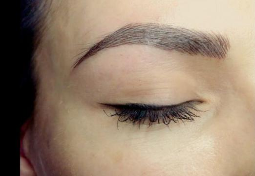 What is left eyebrow scratching for?