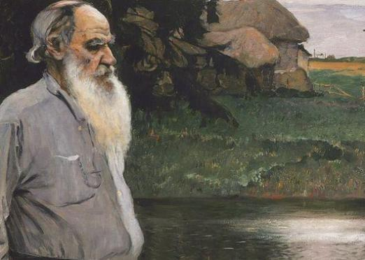 What did Tolstoy write?