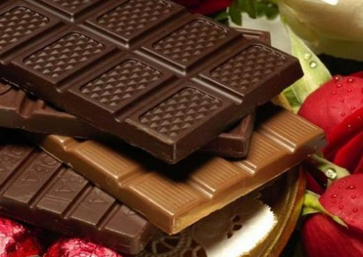 How many calories are in chocolate?