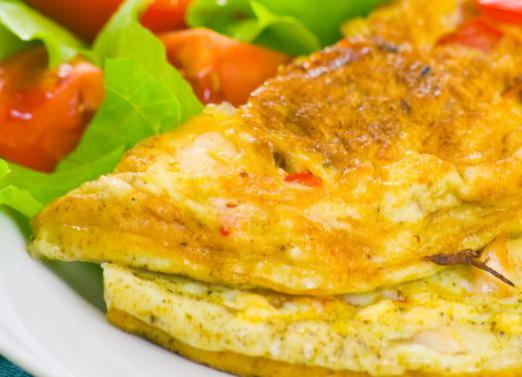 How many calories in an omelet?