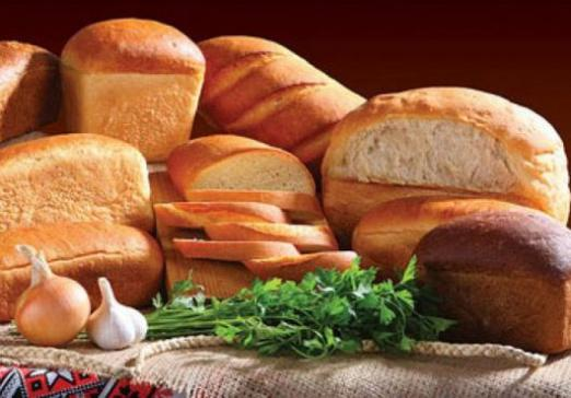How many calories are in white bread?