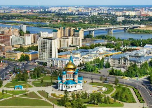 Where is Omsk?