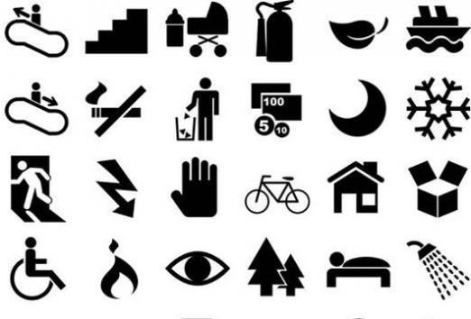 What is a pictogram?
