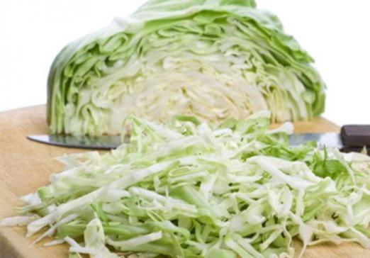 How many calories in cabbage?