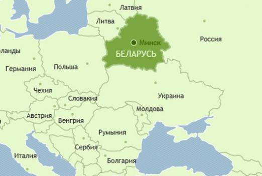Where is Belarus located?