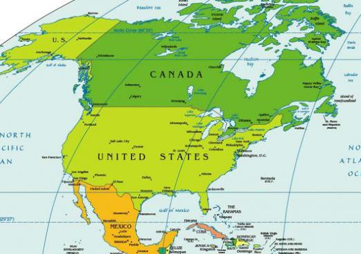 Where is America located?