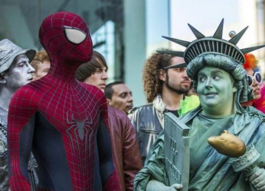 How was Spiderman filmed?
